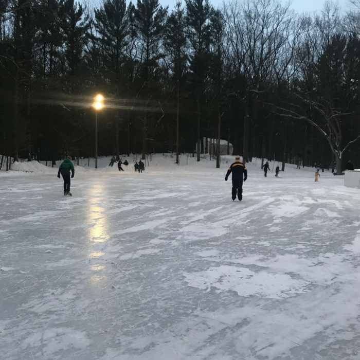 An Ice Skating Trail in the Woods That You Need to Visit