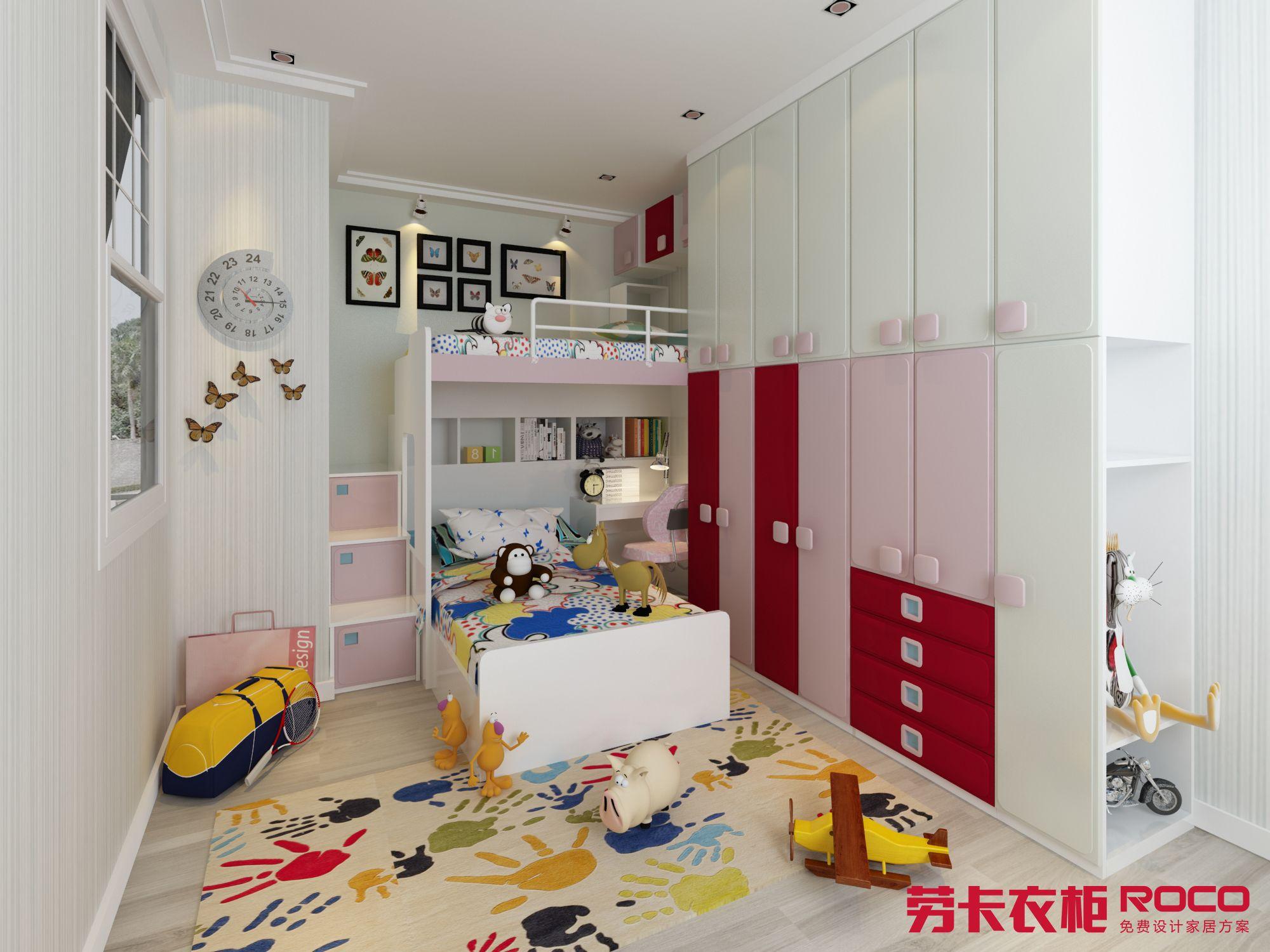Kids Study Furniture Pink Red Color Girl Bedroom Design Queen Bedroom Kid Furniture