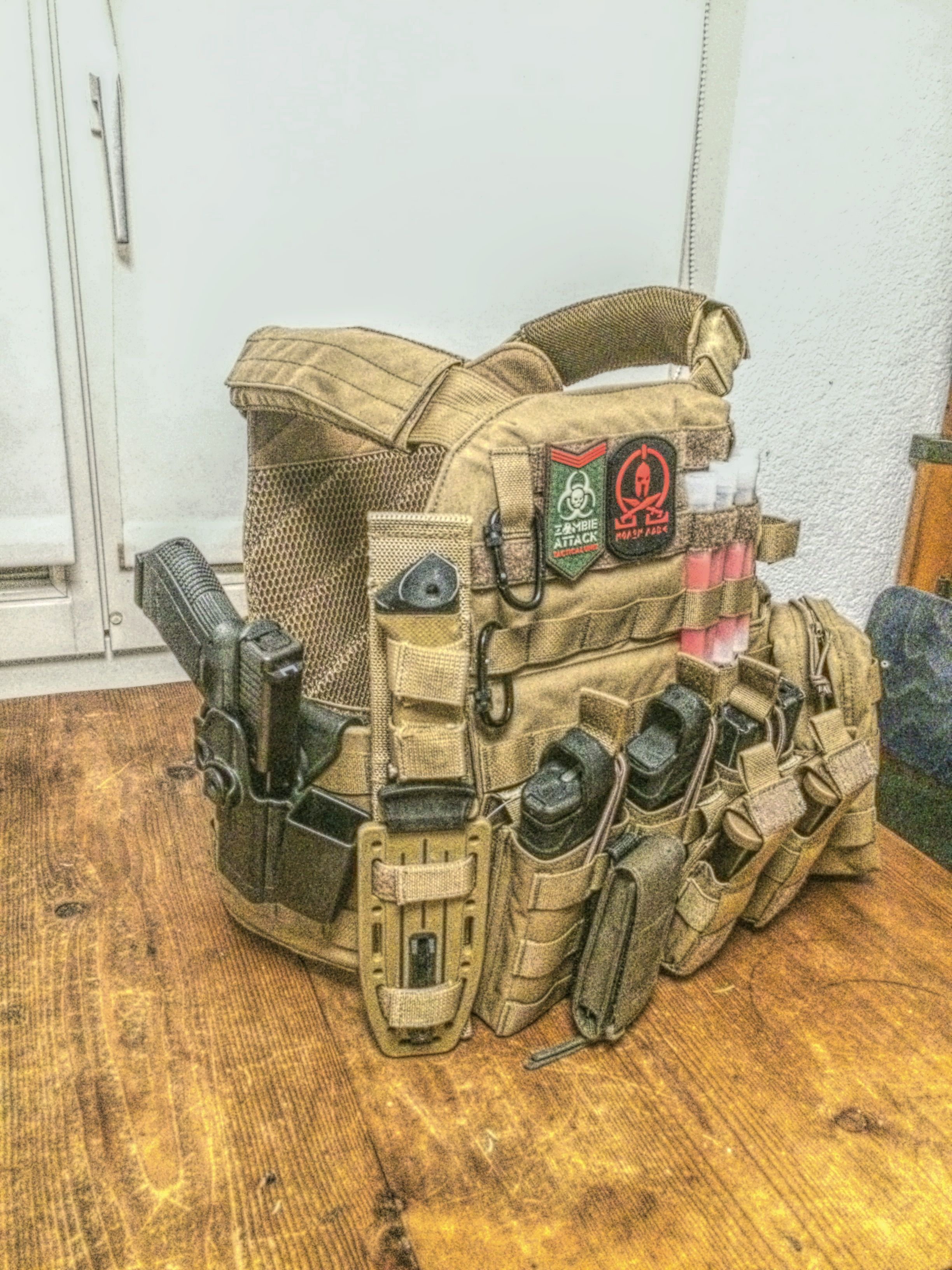 Pin by Quintis on Glock | Tactical clothing, Tactical vest ...