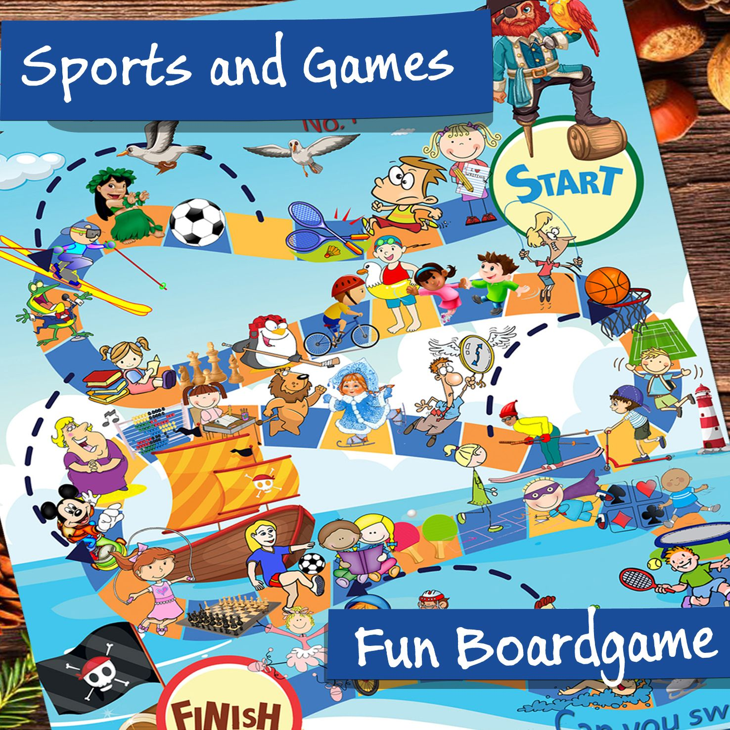 Sports And Games Board Game Vocabulary Activities For