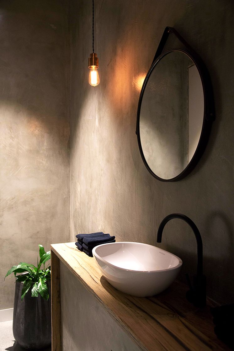 Spiegel Wc Amaru An Intimate Dining Room In Melbourne Toilet Badkamer