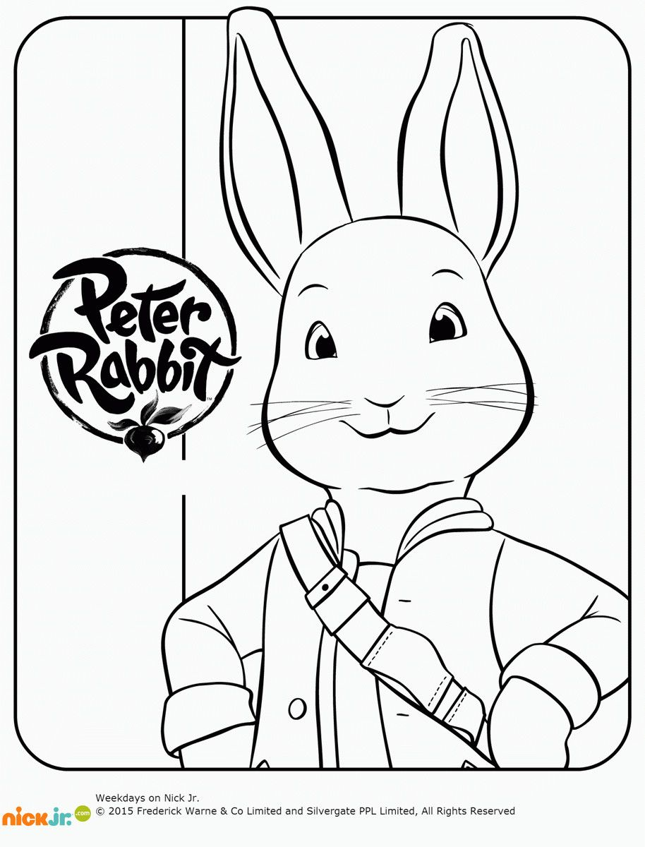Peter Rabbit Coloring Pages Elegant Movie Peter Rabbit Popular Easy Coloring Pages Log Wall Cartoon Coloring Pages Rabbit Colors Bunny Coloring Pages