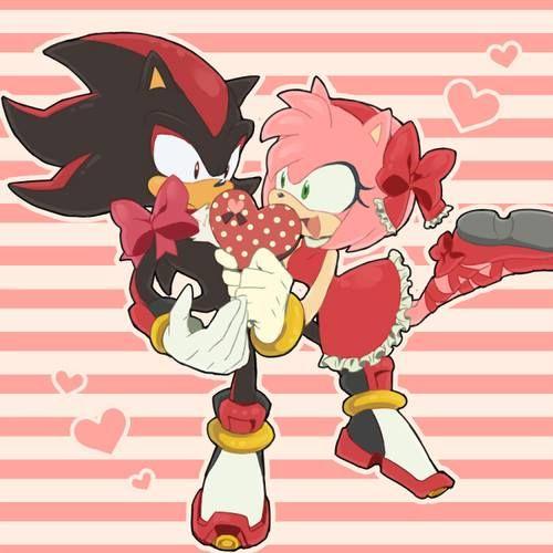Shadow X Amy Shadow And Amy Shadow The Hedgehog Sonic