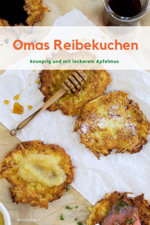 Grundrezept für Reibekuchen   Rezept   Kartoffel - Potato ...