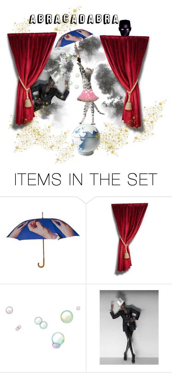 """""""ABRACADABRA"""" by ohintheshop-helene ❤ liked on Polyvore featuring art, vintage, cats, gracejones, lefrenchbazaar and vintagef"""