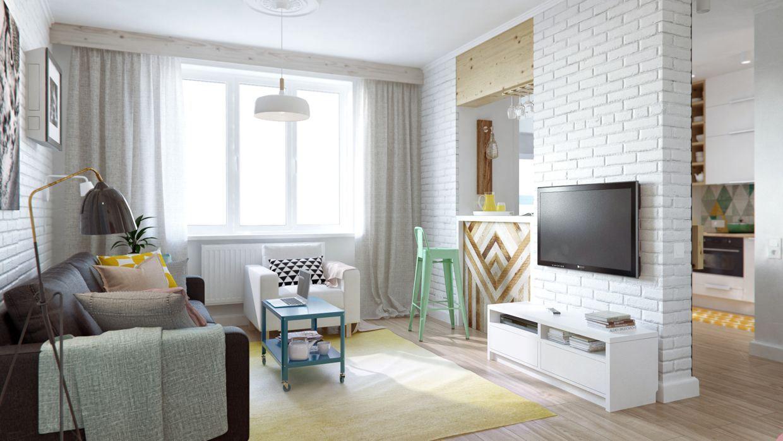 Living In One Room Idei De Design Pentru Garsoniera One Room Apartment Design Ideas