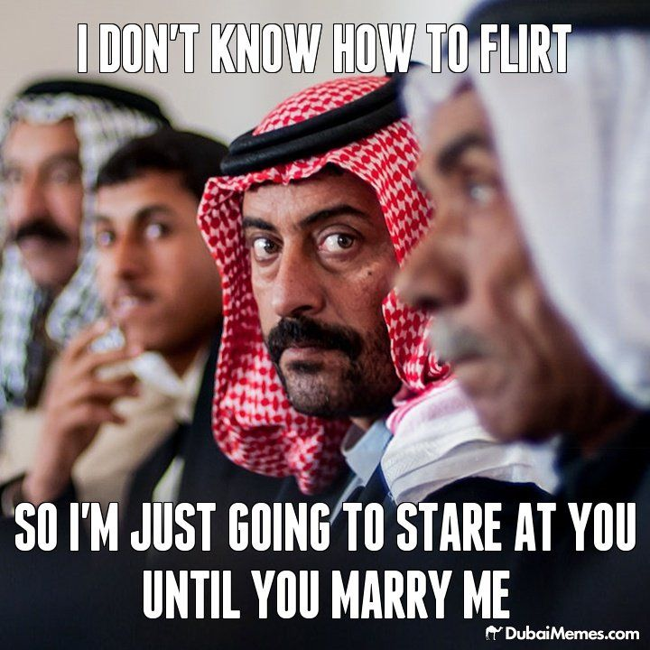 how to get an arab guy to like you
