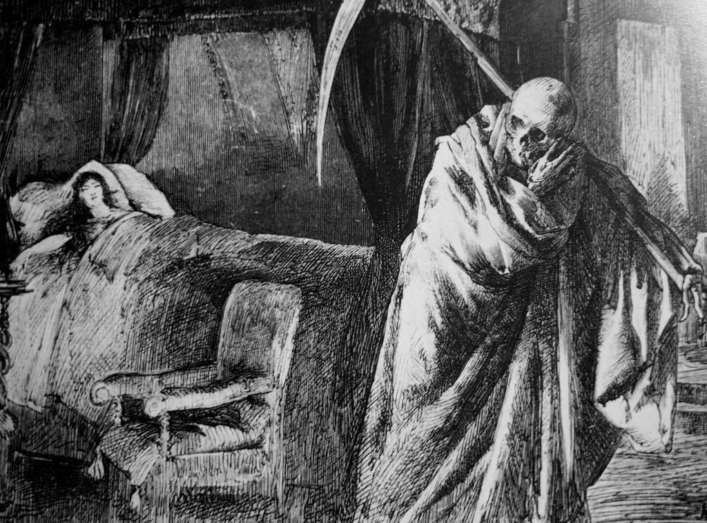 La visita de la muerte