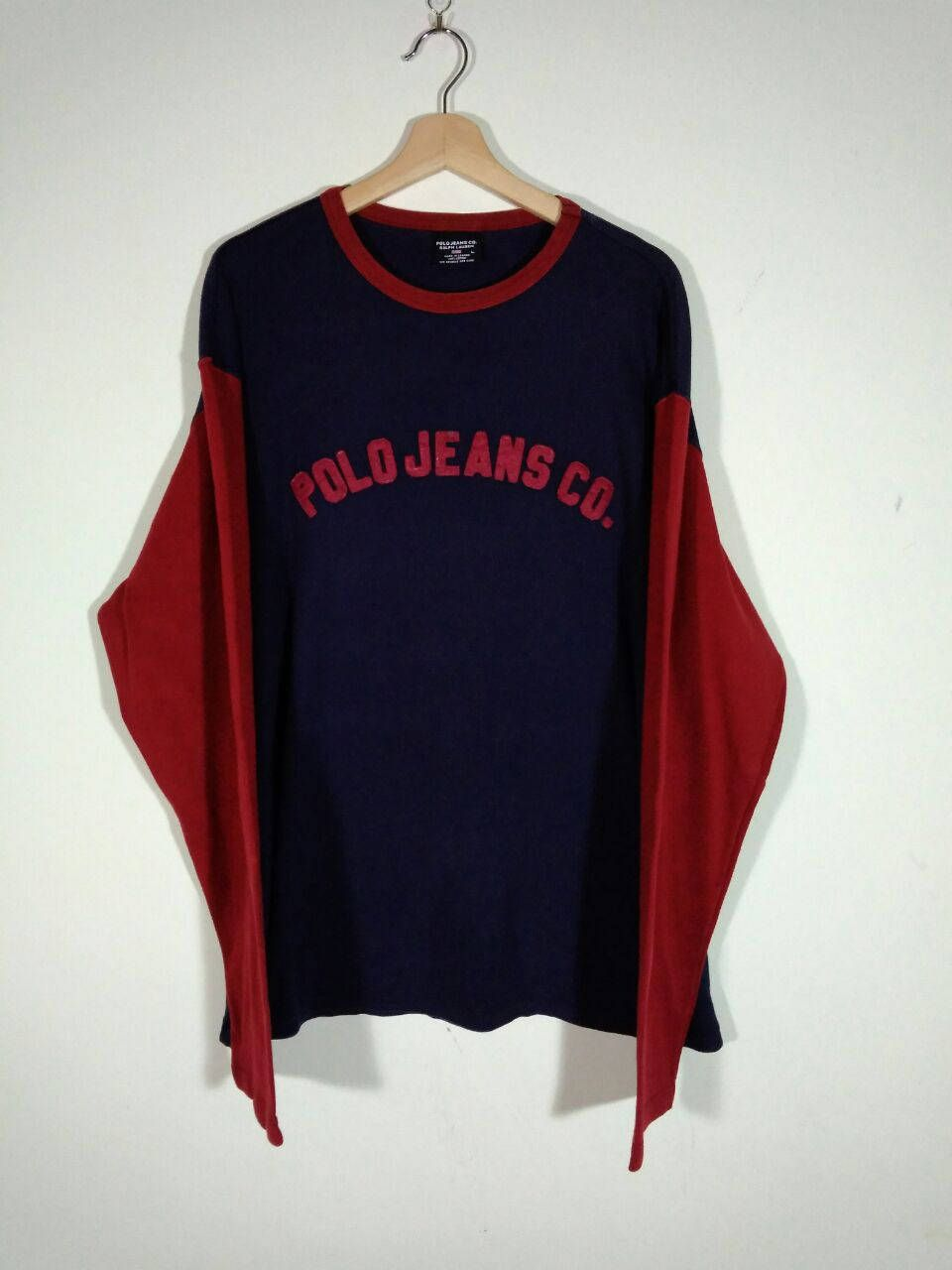 polo jeans company jumper ralph lauren round neck jumper