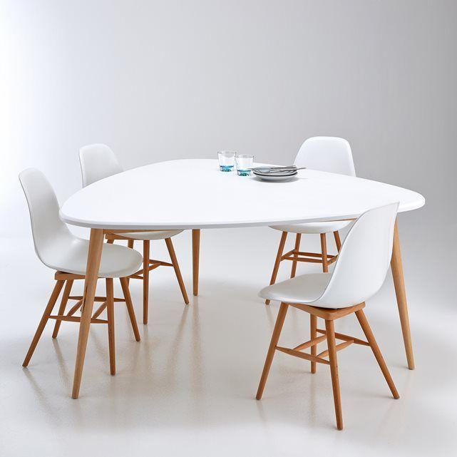 Table de salle à manger 6 personnes, Jimi La table néo rétro se
