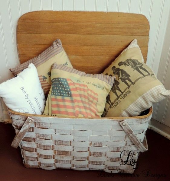 Creative Ideas For Decorating With Baskets | Vintage picnic ...