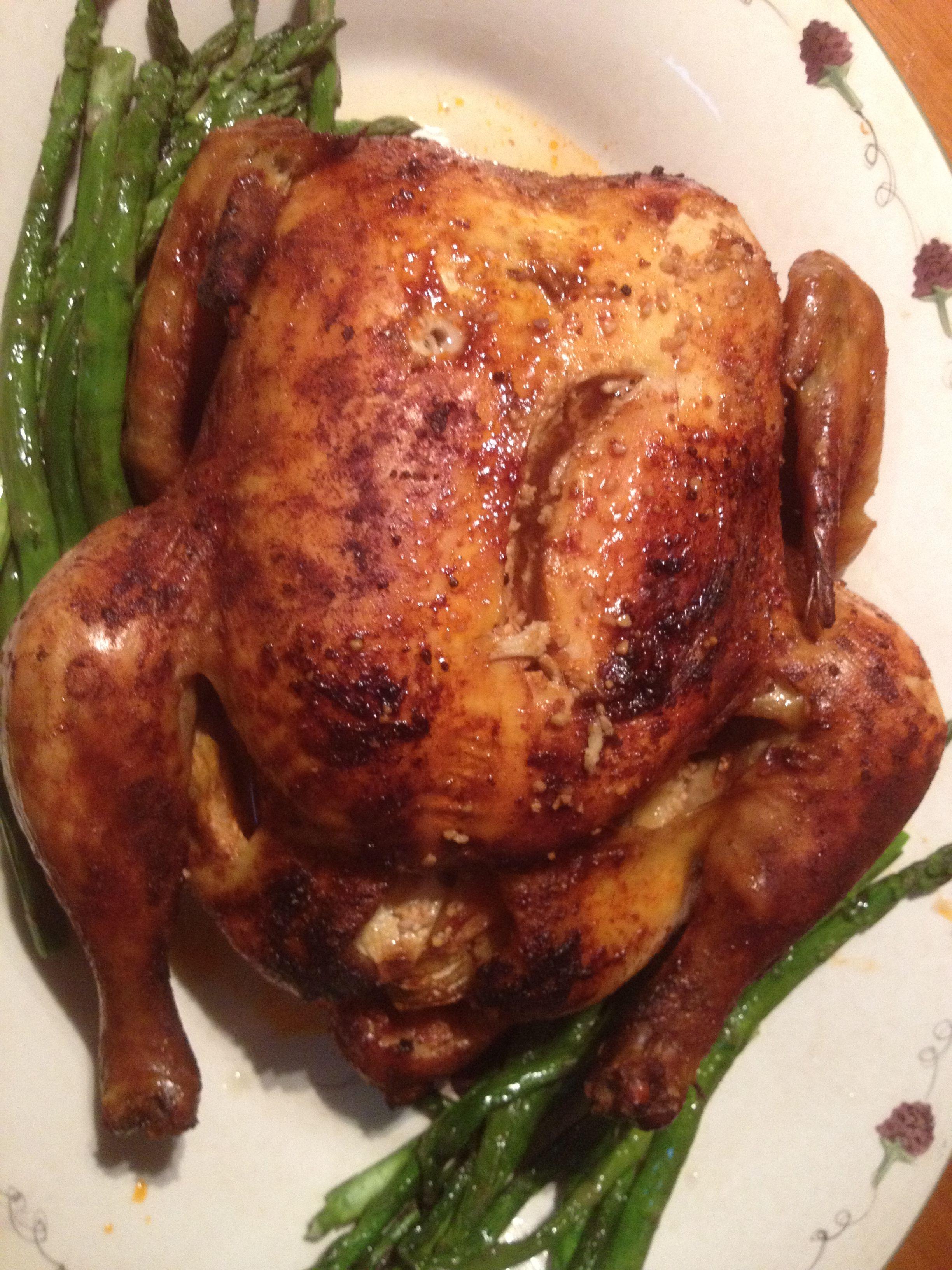 Jamaican Style Roasted Chicken Healthy Chicken Recipes Roast Chicken Recipes Jamaican Recipes