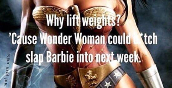 Funny Gym Motivation Meme : Punk slap barbie gym humor pinterest punk barbie and motivation
