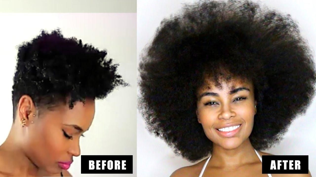 How To Grow Natural Hair Long Fast 3 Easy Steps That Actually Girl Style Grow Long Hair How To Grow Natural Hair Growing Long Natural Hair