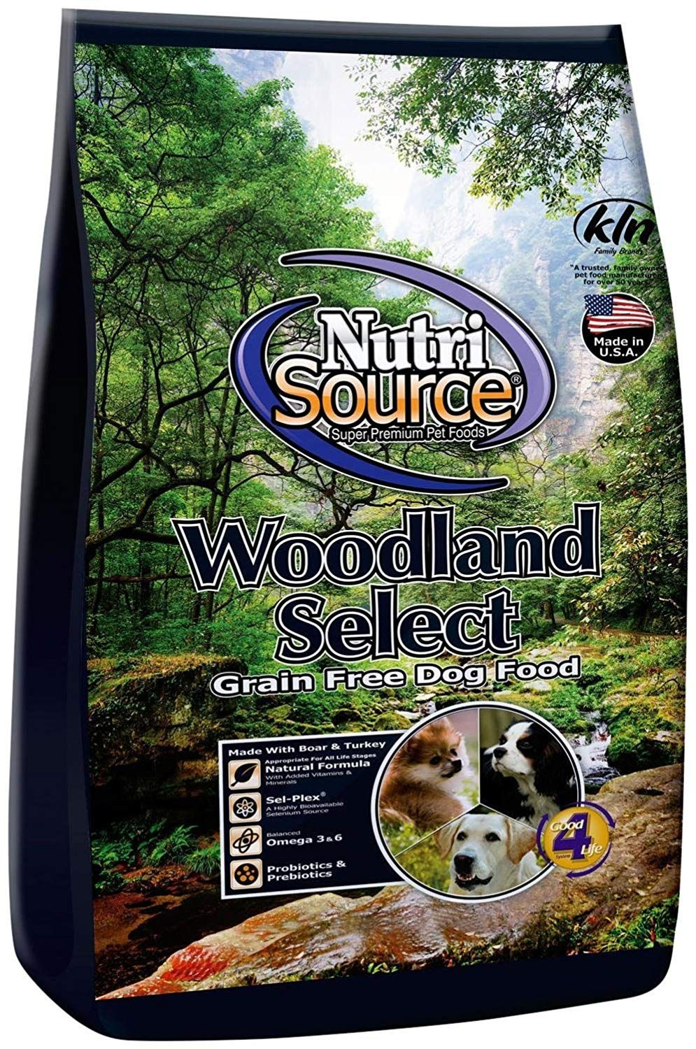 Nutri Source Woodlands Select GF Dog Food 15 lb *** Do