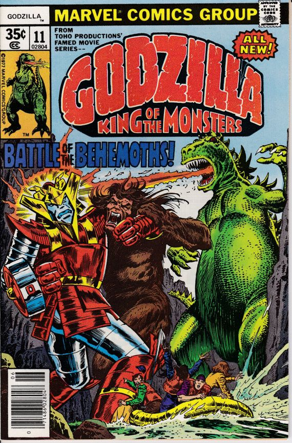 Godzilla 11 June 1978 Issue Marvel Comics Grade by ViewObscura