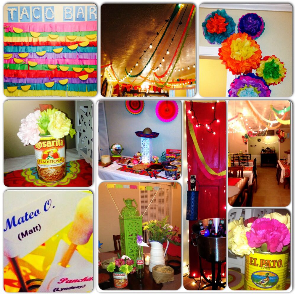 Fiesta Themed Party. I Found Some Great Ideas On Pinterest