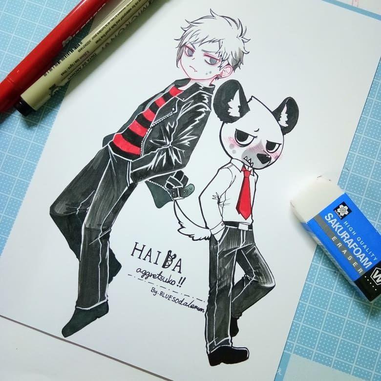 51 Best Aggretsuko Images On Pinterest: Haida Is The Best Boy!! Aggretsuko Fanart . #aggretsuko