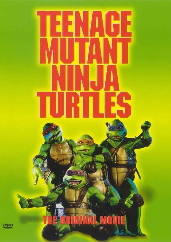 TEENAGE MUTANT NINJA TURTLES 1990 ORIGINAL MOVIE POSTER ROLLED