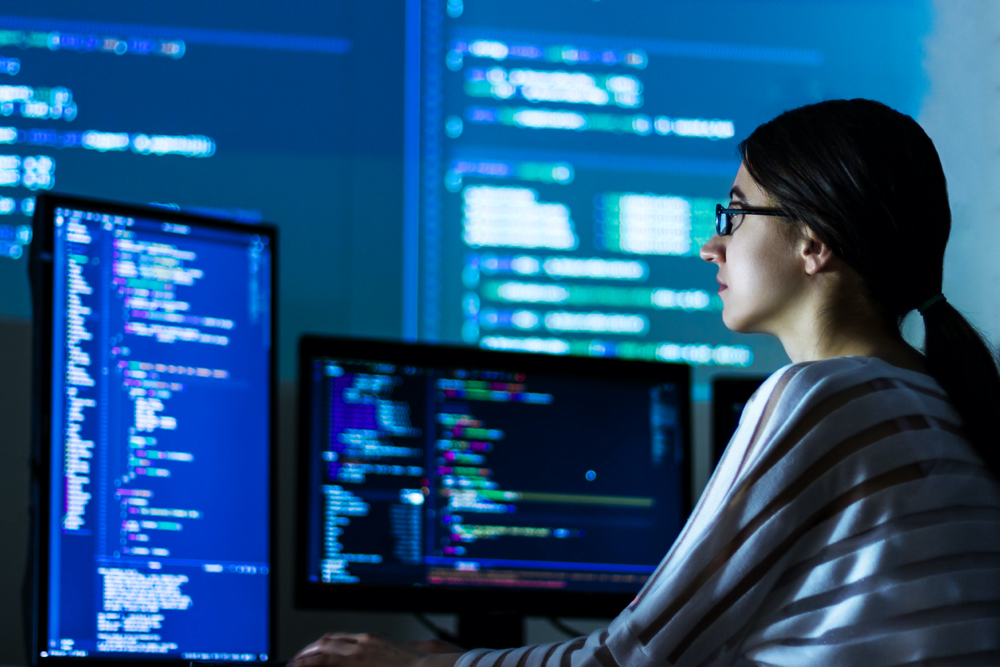 Coding The Key To Getting More Women Into Tech Software Development Software Engineer Mobile Application Development