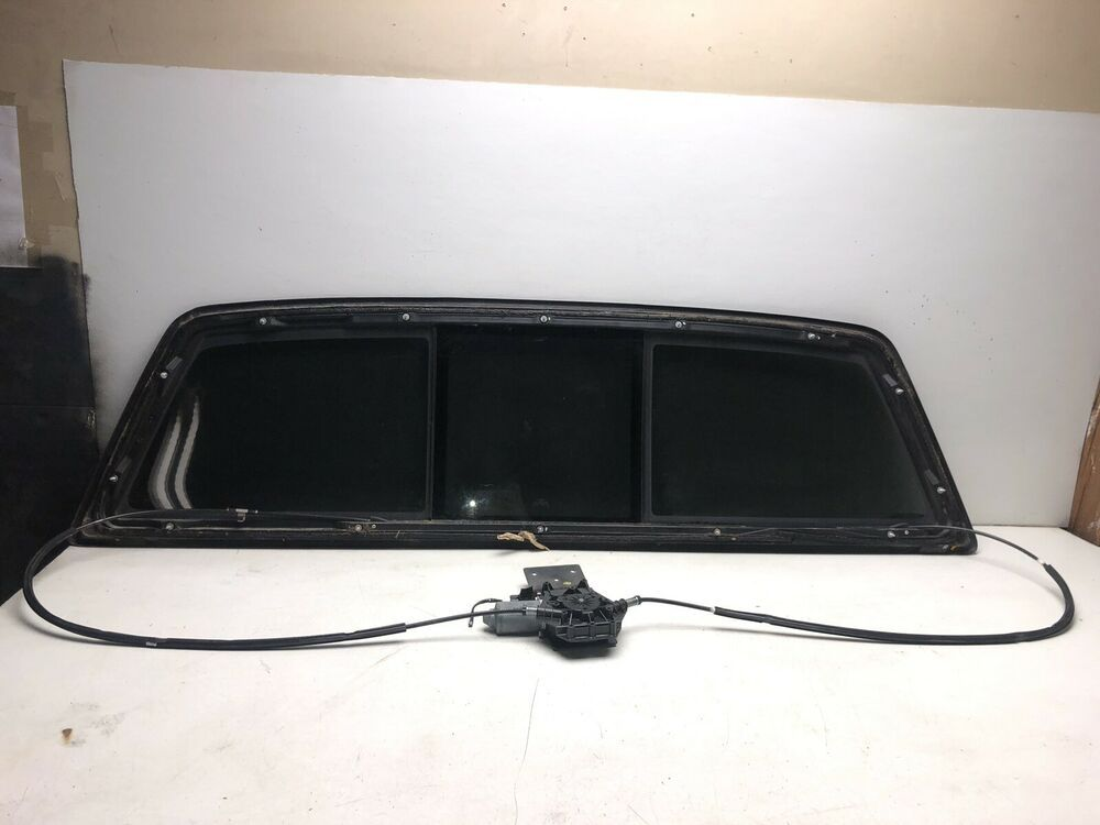 Ad Ebay 04 05 06 07 08 Ford F 150 Back Power Sliding Glass Oem R3879 Ford F150 Fuse Box Things To Sell