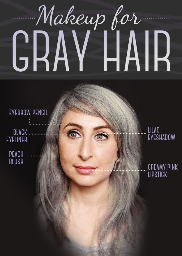 Here Is Every Little Detail On How To Dye Your Hair Gray ...