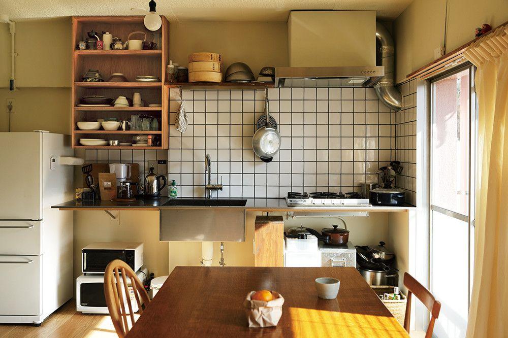 築47年の団地のよさを残す 機能美を携えたシンプルな住まい