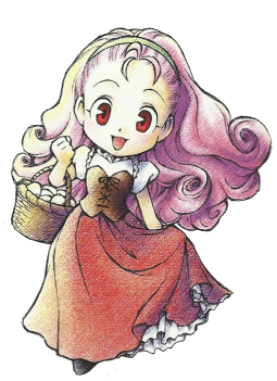 Popuri Harvest Moon Back To Nature, she was one of the cutest