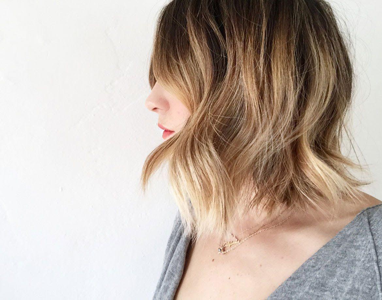 loose curl tutorial for short hair   hair in 2019   loose