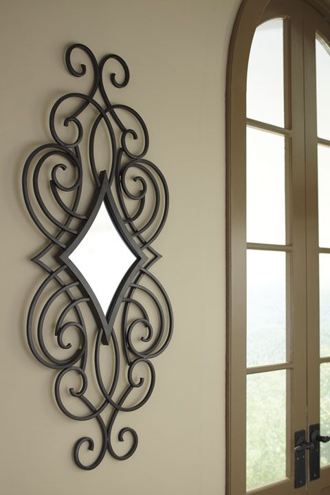 Oilbhe A8010027 By Ashley Accent Mirror Victorian Style