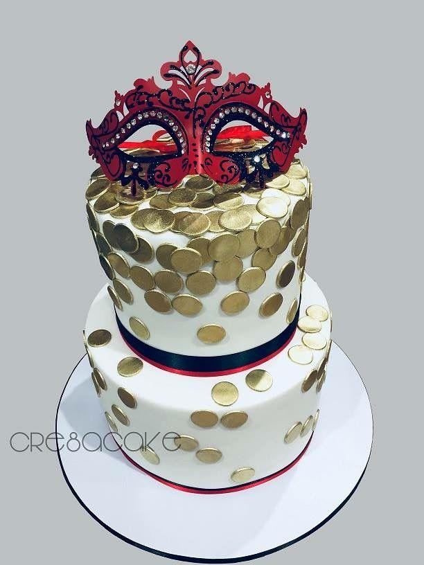 Masquerade Birthday Cake My Cakes Pinterest Masquerades