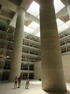 Caja granada alberto campo baeza architectural exteriors interiors designs pinterest - Caja granada en madrid ...