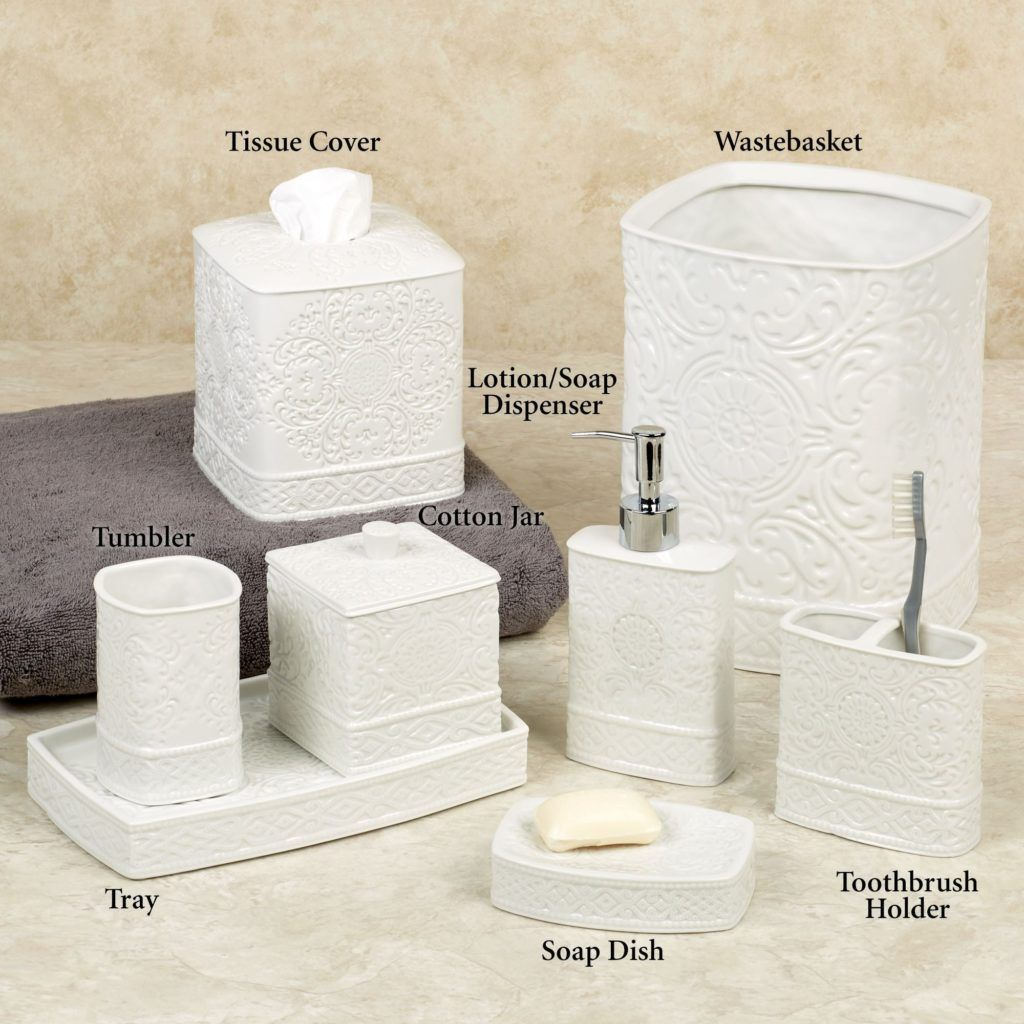 Black And Ivory Bathroom Accessories