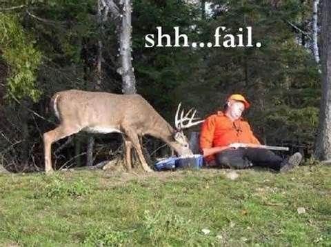 Hahaha, Nice! Fuck The Hunters!!!