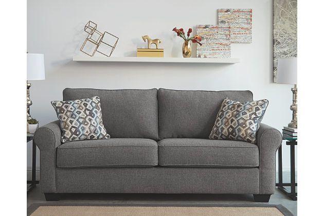 Nalini Sofa By Ashley Homestore Gray Polyester 100