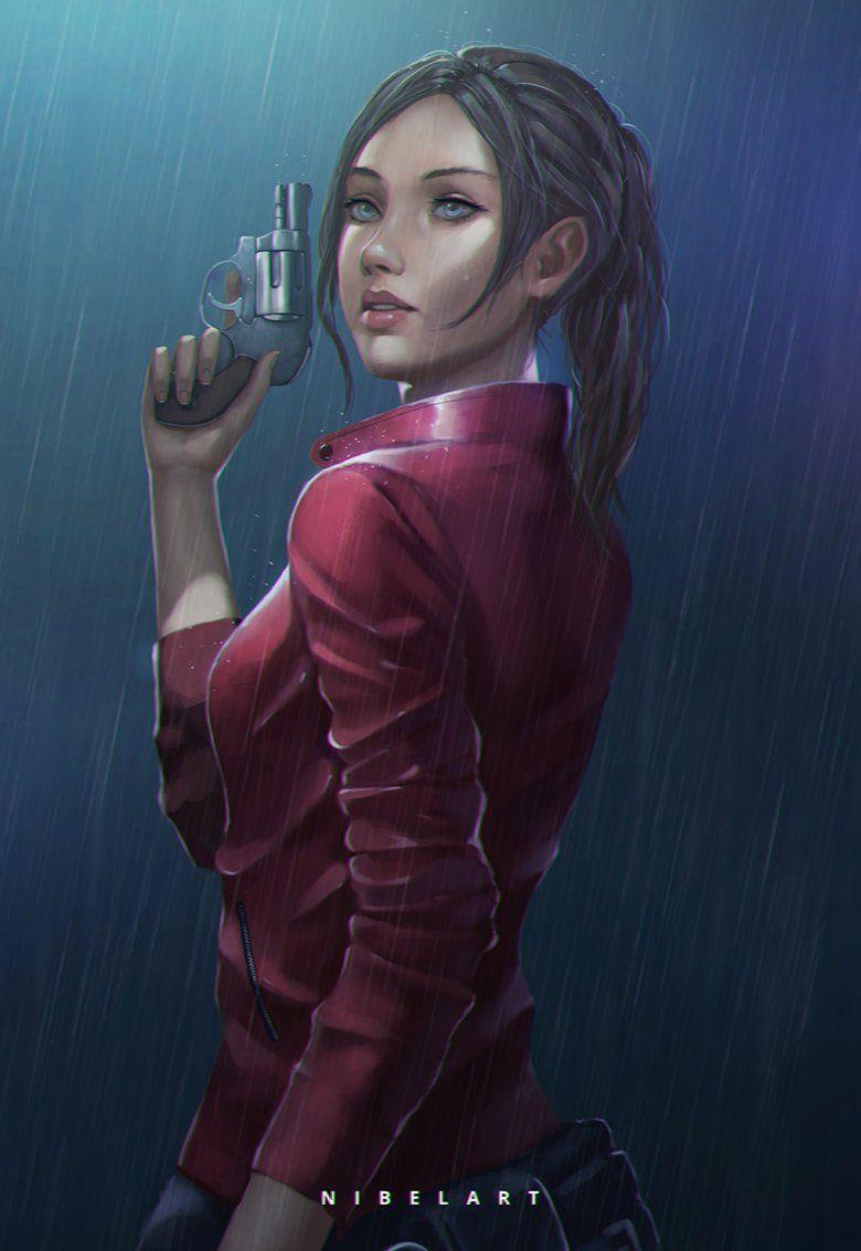 Resident Evil Pistols Warrior Dress Skirt Night Games