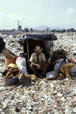 Images Of Mexico City Poverty The Man Is Still Nice Enough To Care For The Dogs It Seems Bless All Three Slums Mexico City Mexico