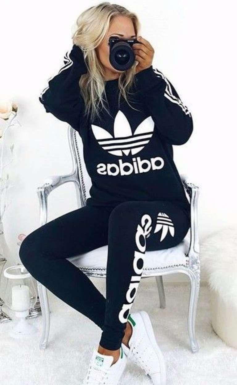 36+ Outfits con Ropa Adidas de Moda que te Encantarán (2018 ...