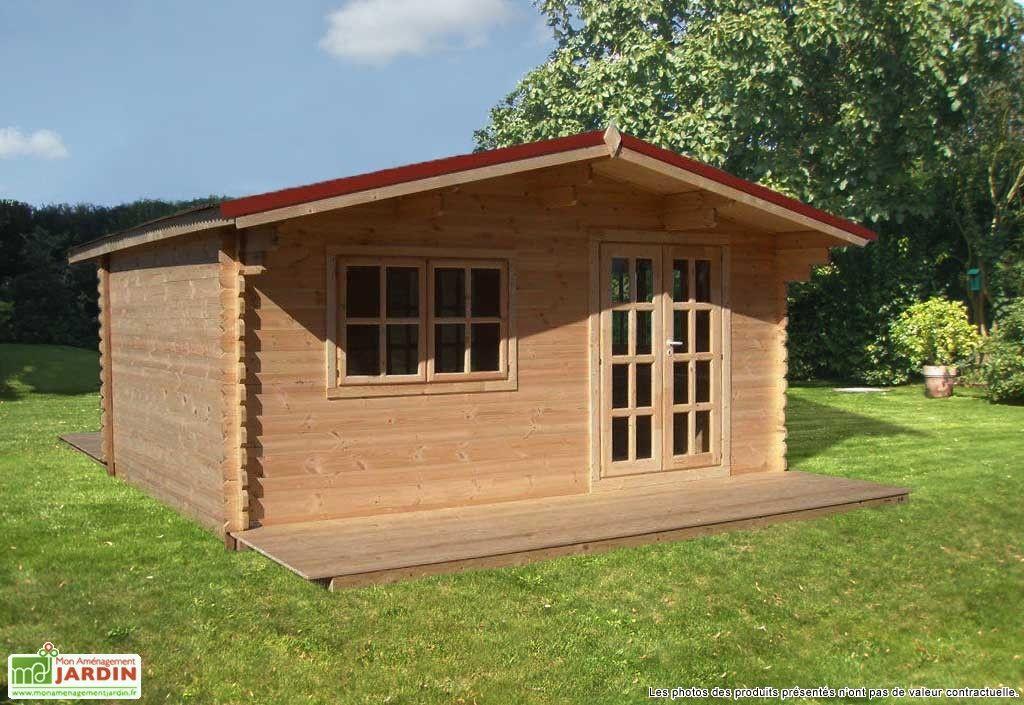 Abri De Jardin Bois Liverpool 499x399x270 44 Mm Caravan Outdoor Structures Outdoor Caravan