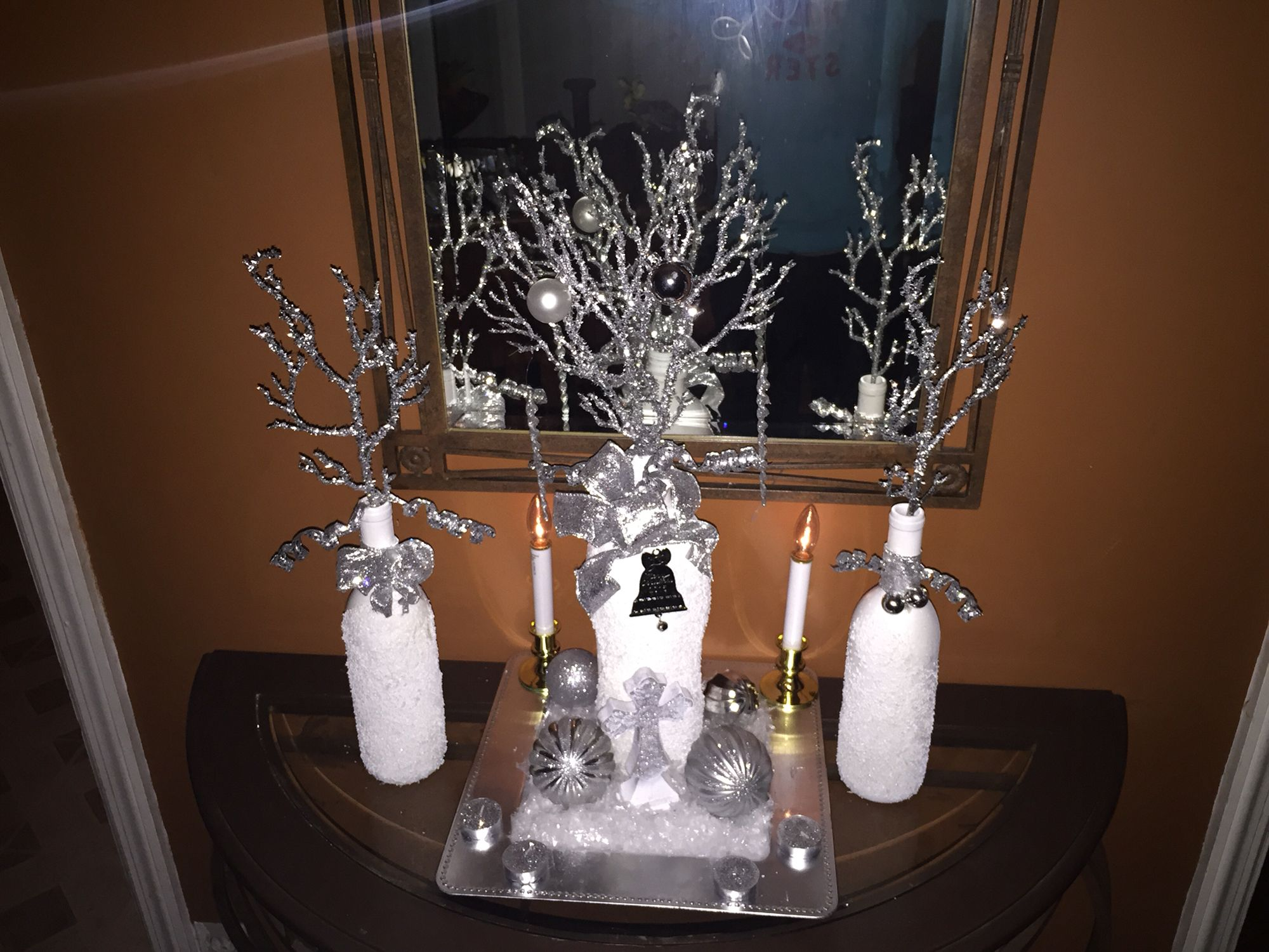 This is a winter wonderland it also is for sale 45$ for everything you see in the picture