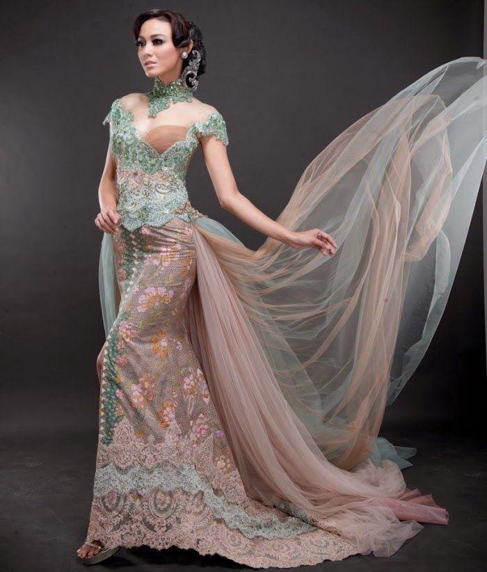 Foto Model Baju Kebaya Pengantin Modern 2015 Kebaya Dress