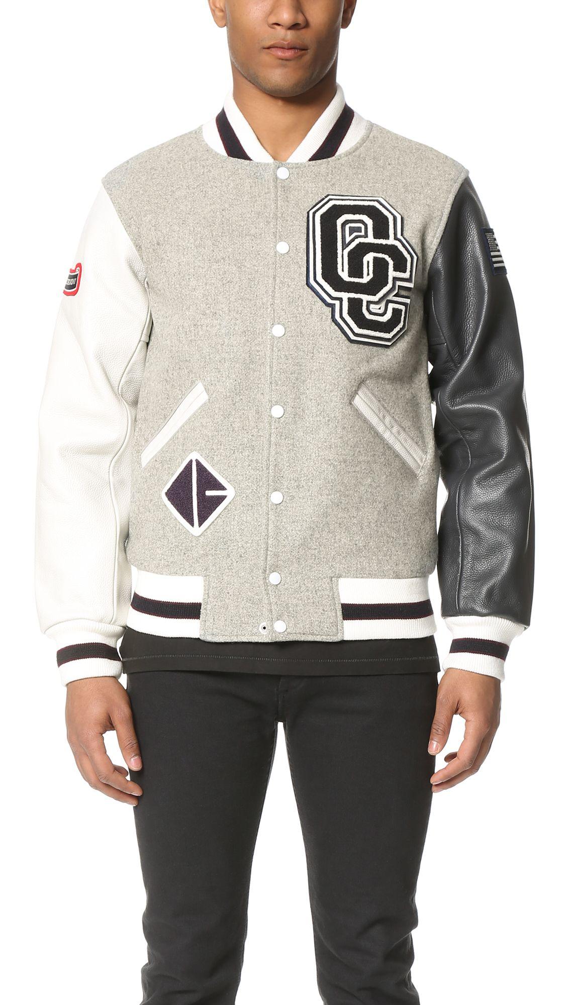 dbe476d32 OPENING CEREMONY Oc Classic Varsity Jacket. #openingceremony #cloth ...