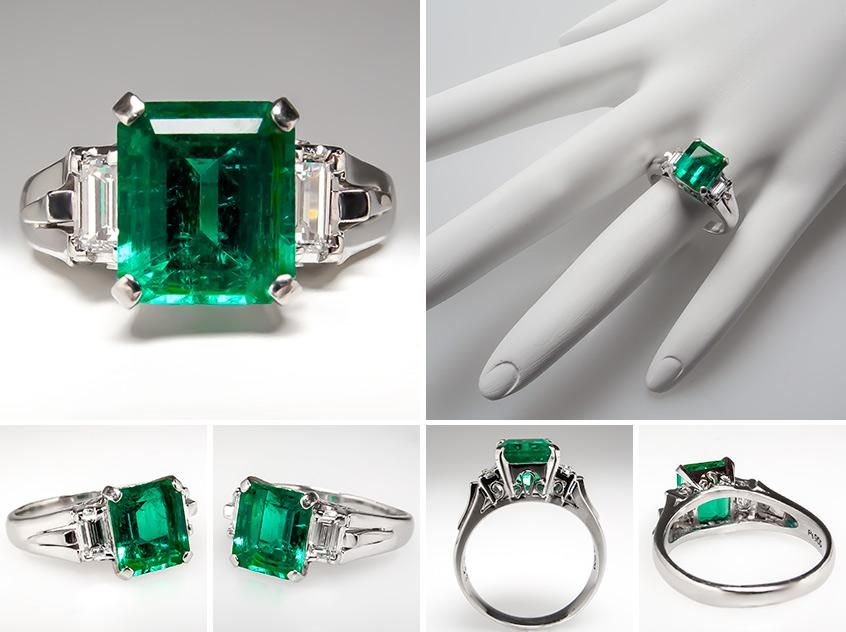 58 best Engagement Rings images on Pinterest Emeralds Jewelry