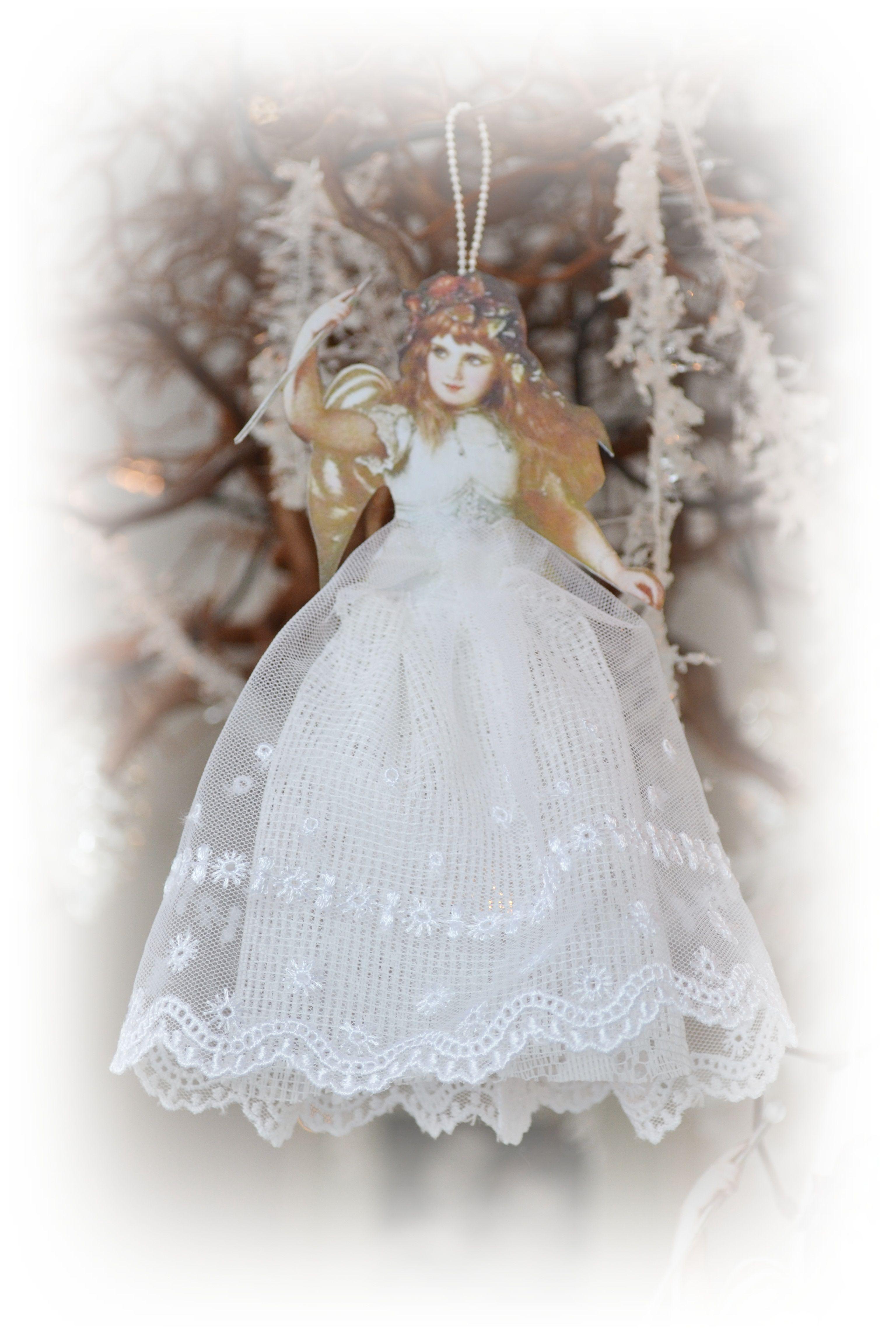 Christmas angels in my Farmette ~ | **My little LACEY Farmette ...