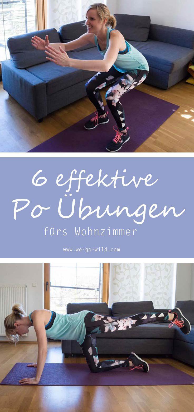 16 po bungen die dein leben ver ndern das knackpo workout fitness bungen zuhause. Black Bedroom Furniture Sets. Home Design Ideas