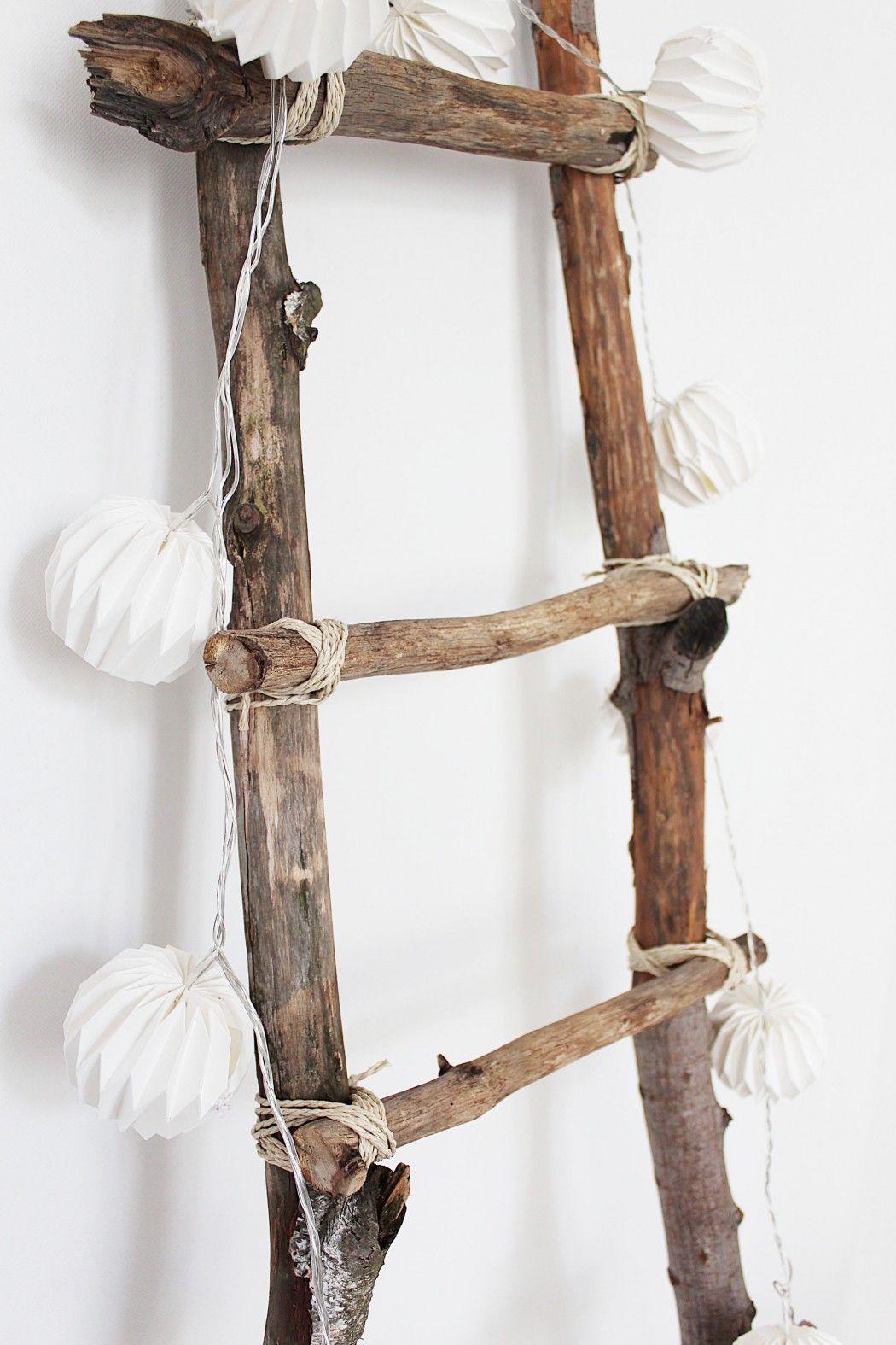 Dekoleiter Selber Bauen- DIY Tutorial #gartendekoselbermachen