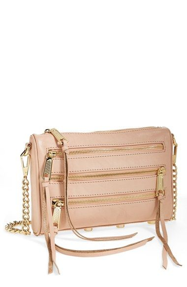 df528b70e2 Rebecca Minkoff  Mini 5-Zip  Crossbody Bag