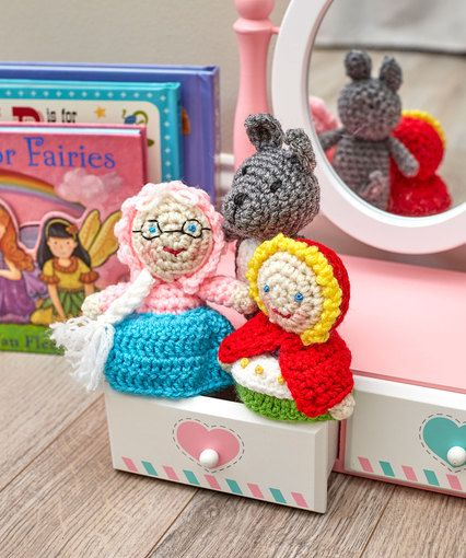 Red Riding Hood Toys By Michele Wilcox Free Crochet Pattern