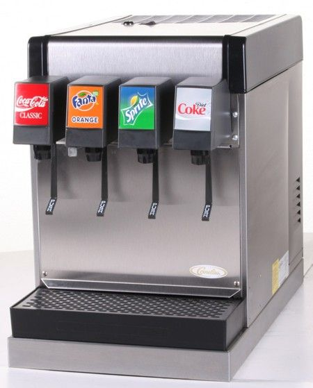 Basement Game Room: 4-Flavor Counter Electric Soda Fountain System