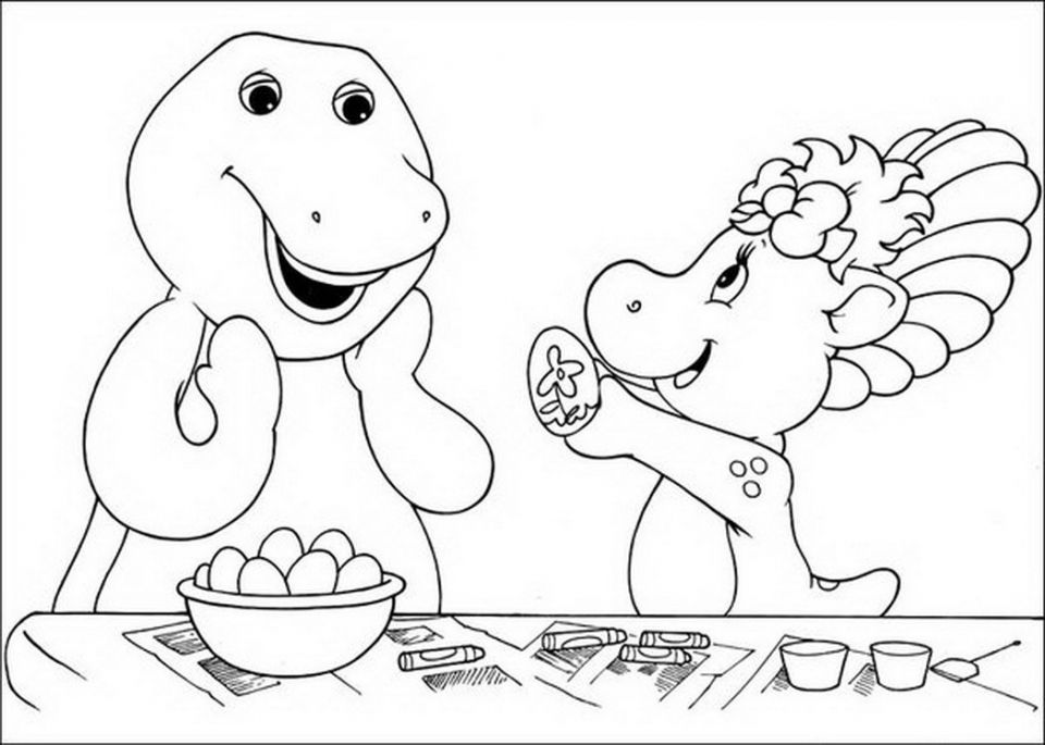 Free Barney Coloring Pages To Print For Kids In 2021 Cartoon Coloring Pages Coloring Pages Blank Coloring Pages
